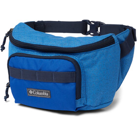 Columbia Zigzag Hip Pack, azure blue triangle rip stop/azul